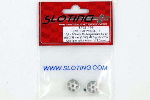 SP021144 Sloting Plus Slotcar Felge 16,9 x 8,5 mm UNIVERSAL