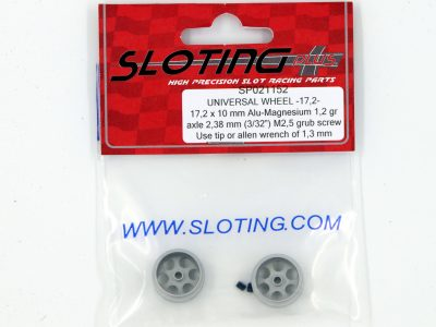 SP021152 Sloting Plus Slotcar Felge 17,2 x 10 mm UNIVERSAL