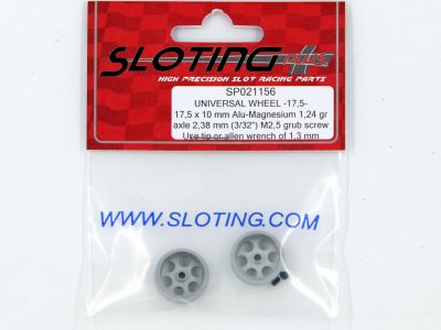 SP021156 Sloting Plus Slotcar Felge 17,5 x 10 mm UNIVERSAL