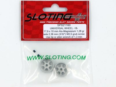 SP021160 Sloting Plus Slotcar Felge 17,9 x 10 mm UNIVERSAL