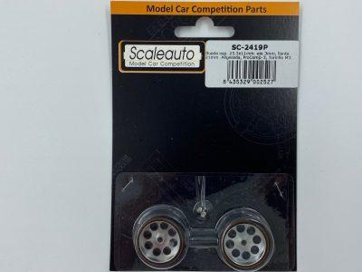 Scaleauto ProComp 3 – Moosgummi Komplettrad 25,5 x 11 mm SC-2419P