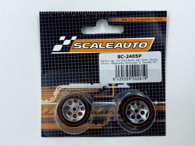 Scaleauto ProComp 3 - Moosgummi Komplettrad 24,5 x 13 mm SC-2405P