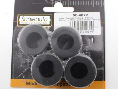 Scaleauto ProComp 4 - Moosgummi Reifen 30 x 20 mm SC-4822