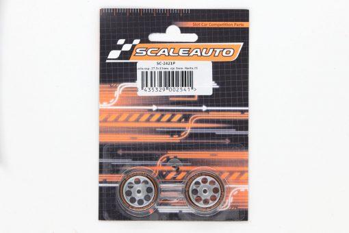 Scaleauto ProComp3 Moosgummi Komplettrad SC-2421P