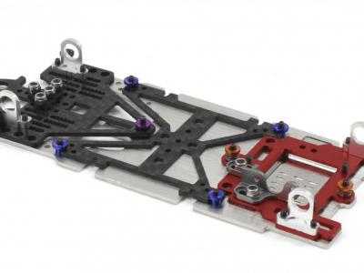 Scaleauto Sport M Universal-Fahrwerk Radstand 94-117mm SC-8200B