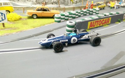 Scalextric C3429 Eagle Gurney-Weslake auf Digital 132