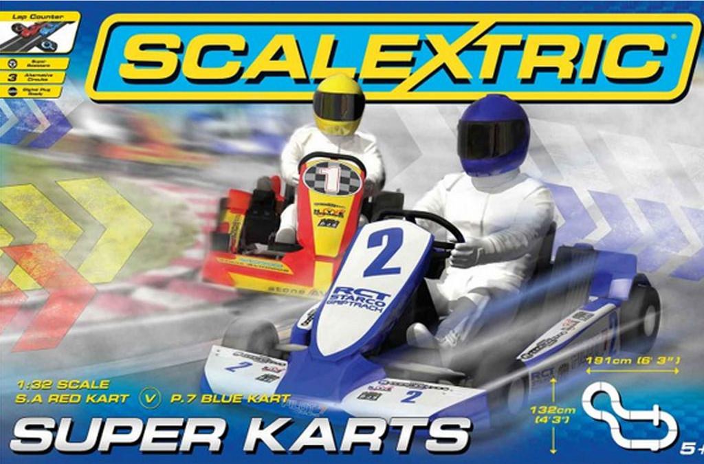 Scalextric bringt zwei neue Karts in den Handel: Super Kart 2 – C3668  Super Kart 1  C3667