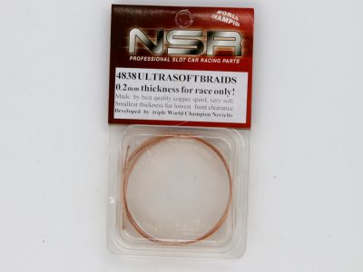 Schleifer Braids Stromabnehmer Kupfer 0,2 mm 100 cm NSR ultrasoft 4838