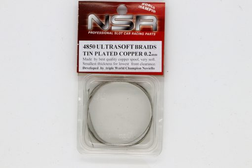 Schleifer Braids Stromabnehmer verzinnt, 0,2 mm x 100 cm NSR, ultrasoft 4850