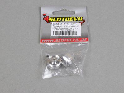 Slotcar Stegfelge 17,9 x 9,5 mm für 2,38 mm Slotcar-Achsen von Slotdevil 2008181019