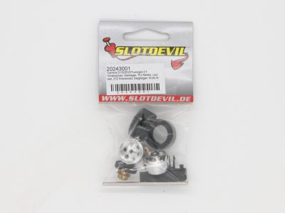 Slotdevil Carrera D132/ Evolution Tuning-Kit C1 HA Gleitlager PU Reifen 20243001