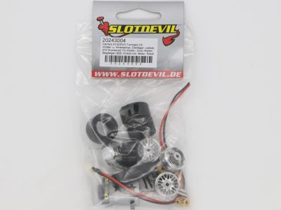 Slotdevil Carrera D132 und Evolution Tuning-Kit C4 20243004