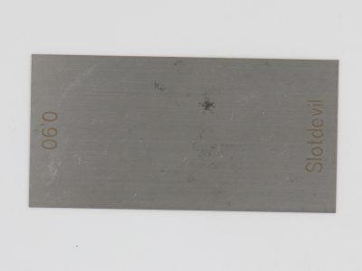 Slotdevil Messplatte 0,9 mm dick 30 x 100 mm 20071309