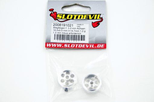 Slotdevil Stegfelge 18,5 x 9,5 für 3,0 mm Achsen (2 Stück) - 2008191021
