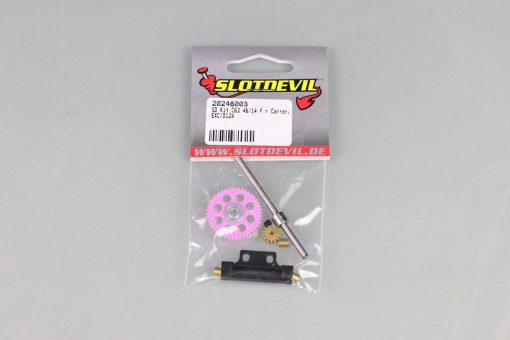 Slotdevil Tuningkit C63 (4614 Zähne) für Carrera ExcD124 20246003