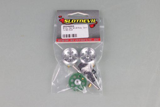 Slotdevil Tuningkit C64 (5010 Zähne) für Carrera ExcD124 20246004