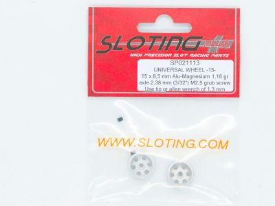 Sloting Plus Slotcar Felge 15,0 x 8,5 mm UNIVERSAL SP021113