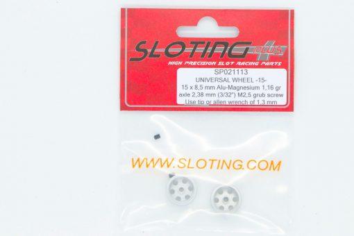 Sloting Plus Slotcar Felge 15,0 x 8,5 mm UNIVERSAL SP021113