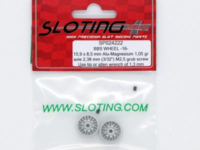Sloting Plus Slotcar Felge 15,9 x 8,5 mm BBS 16 SP024222