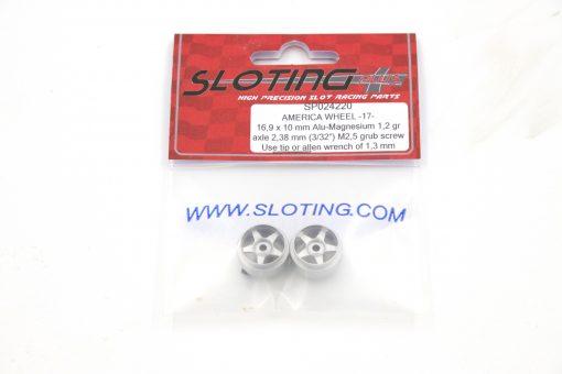 Sloting Plus Slotcar Felge 16,9 x 10 mm AMERICA R 17