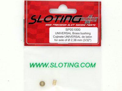 Sloting Plus Universal Gleitlager mit Doppelflansch für 2,38 mm Achsen SP051000