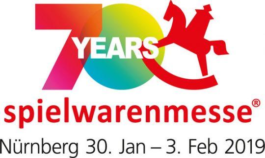 Logo 70 Jahre Spielwarenmesse