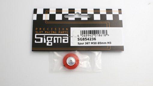 Spurzahnrad Achszahnrad 36 Zähne für 3 mm Achsen SIGMA