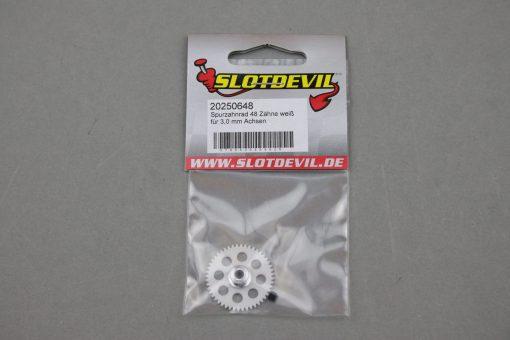 Spurzahnrad Achszahnrad 48 Zähne für 3 mm Achsen SLOTDEVIL 20250648