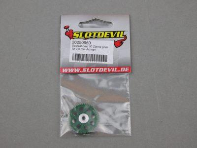Spurzahnrad Achszahnrad 50 Zähne für 3 mm Achsen SLOTDEVIL 20250650