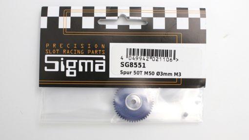 Spurzahnrad Achszahnrad 50 Zähne für 3 mm Achsen SIGMA