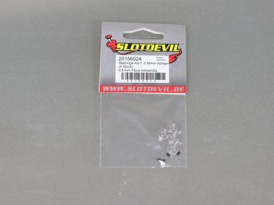 Stellring für 2,38 mm Slotcar Achsen aus Aluminium- SLOTDEVIL 20156024