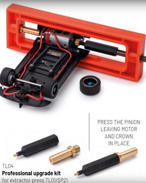 Upgrade Kit Motorritzelabzieher u.Aufpresser Professional