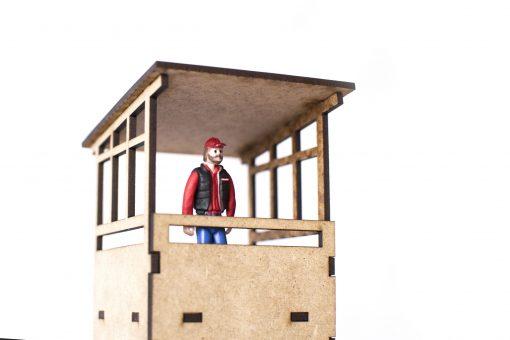 Vintage Lookout building PSR0407