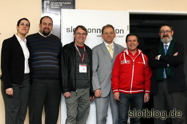Hoher Besuch bei der Slot-Connection in Wendelstein