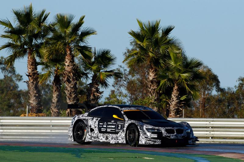 DTM-Test in Monteblanco: Schwierige Rahmenbedingungen für BMW Motorsport.