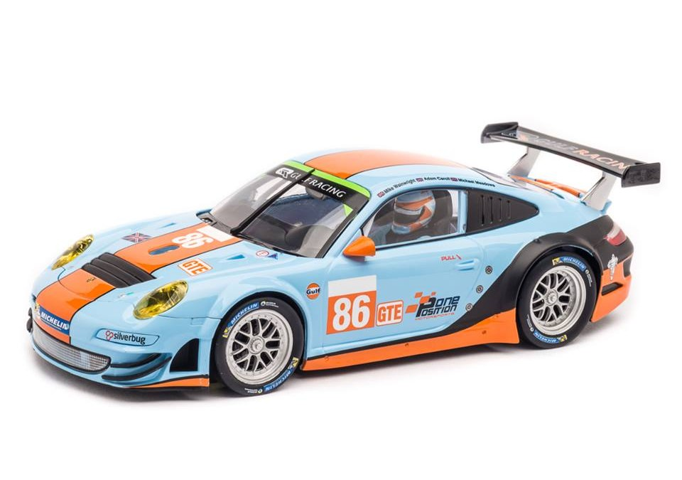 "Carrera Porsche GT3 RSR ""Gulf Racing No.86"", Silverstone 4h 2014"