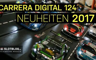 Carrera DIGITAL 124 Neuheiten 2017 – erstmals mit DTM Fahrzeugen an den Start