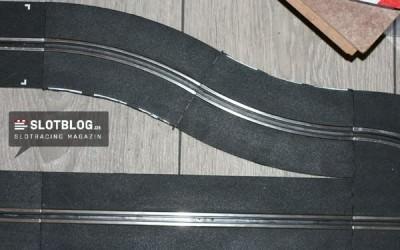 Kostengünstiger Carrera Pit-Lane Umbau