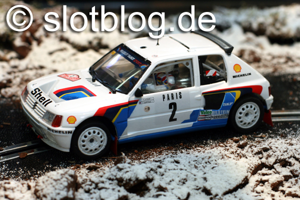 OSC – Original Slot Cars Peugeot 205 T16 Evo1