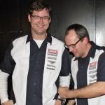 So sehen Sieger aus: Joest Racing mit Volker Paulun und Eldert Hedden