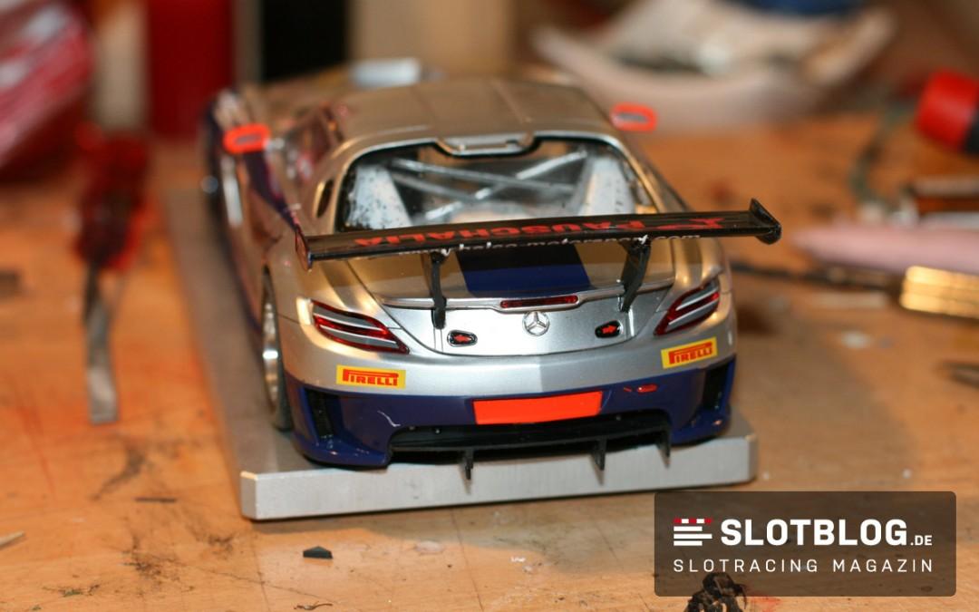 Flexible Spoilerhalter für Slotcars selbst herstellen