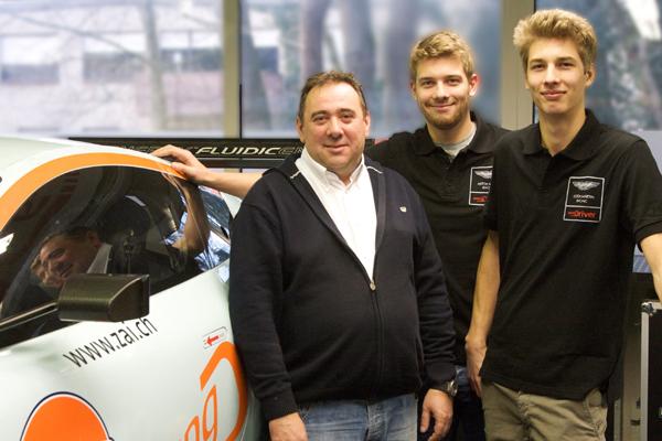 Stuck-Brüder starten mit Aston Martin im ADAC GT Masters